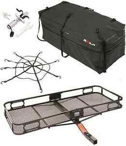 Pro Series Cargo Carrier Basket Rola Cargo Bag Cargo Net Silent Hitch Pin