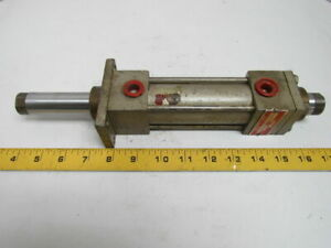 Milwaukee A 31d Pneumatic Air Cylinder 1 1 2 bore 3 Stroke Double Rod