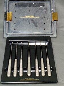 Acufex Arthroplasty 7 Pc Instrument Set Small Joint Surgical Orthopedic
