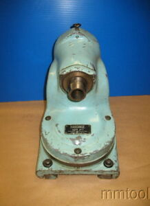 Hardinge Horizontal Mill Vertical Head Attachment Vh 2