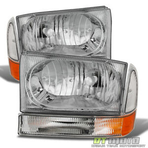1999 2004 F250 F350 F450 Superduty Excursion Headlights Corner Lights Left right