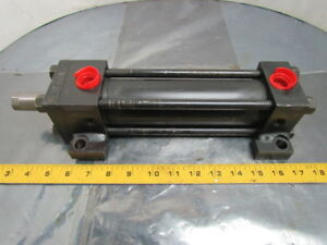 Hydro line Hydraulic Cylinder 2 Bore 5 3 8 Stroke Side Lugs Extended Rod