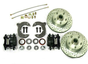 Mustang Ii Front Disc Brake Kit With 11 Chevy Rotors No Spindles Ss Lines