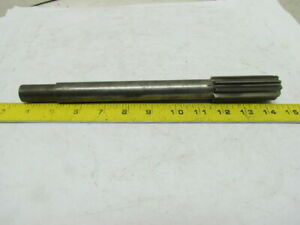 1 1 8 Machine Chucking Reamer 10pt Straight Fute 0 750 Reduced Shank Diameter