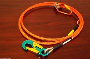 Tree Climber Wire Core Lanyard Kit With Aluminum Snap made Usa