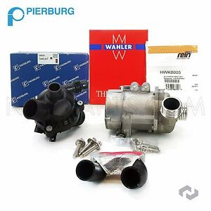 For Bmw Engine Water Pump Electric W Bolts thermostat Assembly hose 925 476 049