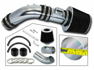 04 07 Accord 2 4 Sulev L4 Short Ram Air Intake Kit black Dry Filter