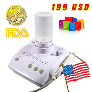 New Dental Ultrasonic Piezo Scaler Liquid Dosing Ems Woodpecker A7