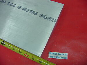 3 8 X 10 Aluminum 6061 Flat Bar 18 Long Solid T6511 375 Plate Mill Stock