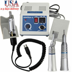 Dental Lab Marathon Electric Micromotor N3 Contra Angle Straight Handpiece