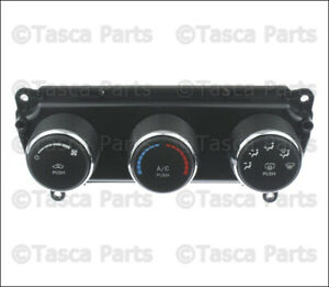 New Oem Ac Heat Climate Control Unit 2009 2010 Dodge Challenger 55111952ae