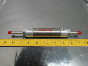 Humphrey Pneumatic Air Cylinder1 1 16 Bore 2 Stroke Double Rod Stainless