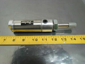 Parker 01 25 Dsrmbs3 1 00 Pneumatic Air Cylinder 1 1 4 Bore 1 Stroke Stainless