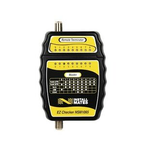 Ez Checker Cable Tester Tool For F Rj11 And Rj45 Cables