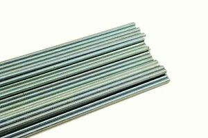 25 Threaded Rod 3 8 16 X 72 A307 Zinc Plated All thread 3 8 X 6 Ft
