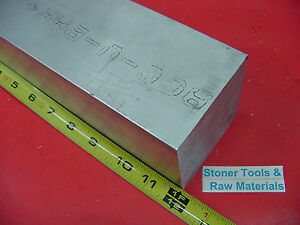 3 X 3 Aluminum 6061 Square Solid Bar 12 Long T6511 Flat Mill Stock