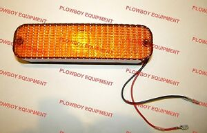 Led Amber Warning Light 72160876 For Allis Chalmers Tractor 7020 7040 7060 7080