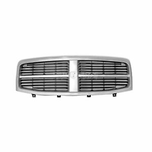 New 2004 2006 Fits Dodge Durango Front Grille Chrome Shell Ch1200274 55077723ab