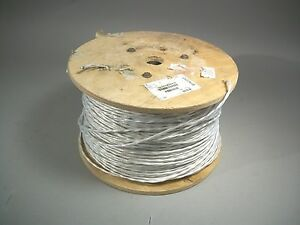 2 Conductor Shielded Wire Dxn2293 1000 Ft 20 Awg New