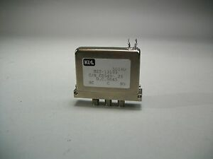 K l Microwave Mst 13193 Coaxial Switch Sma f Solder Coupling New