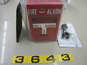 Rms 1t Wp Fire Alarm Pull Station