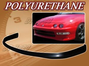 For 94 97 Acura Integra T r Poly Urethane Pu Front Bumper Lip Spoiler Body Kit