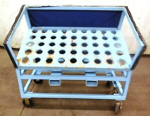 Tool Holder Storage Rack 45 Slots 48 1 2 X 27 X 48 Steel Frame