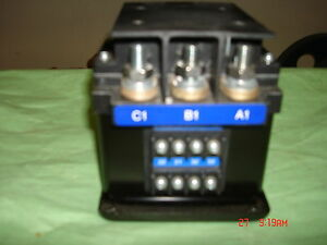 Military Generator Power Magnetic Contactor Relay Ct350e 120e4 30 60 Kw Mep