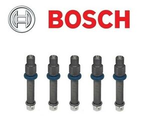 For Audi 100 200 80 Quattro Vw Golf Set Of 5 Fuel Injector Bosch 0 437 502 043