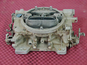 64 65 Dodge Plymouth 426 Hemi Cross Ram Carter Afb Carburetor 3861s