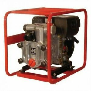Multiquip Qp2tz Trash Pump 2 Suction 198 Gpm 4 6 Hp Subaru Hatz 1b20