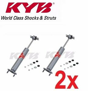 2 kyb Gas a just Front Gas Shocks For Maverick Mustang Comet Cougar Kg 4517