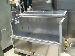 Bev Air Milk produce Etc Cooler 115 V S s Casters 800 Items On E Bay