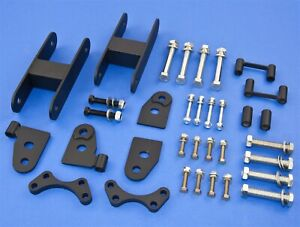 Front 2 5 Rear 1 5 Lift Kit With Shock Extender Gmc Chevy 04 12