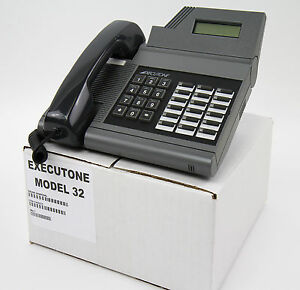 Executone M32 Grey Charcoal Phone Lot