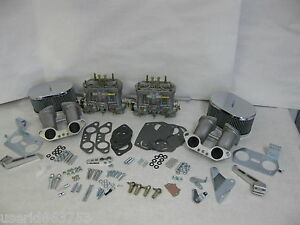 Porsche 912 914 Vw Type 2 Weber Dual 40 Idf Conversion Genuine Weber Carbs