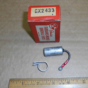 New Vintage Fairbanks morse Magneto Distributor Condenser Gx2433