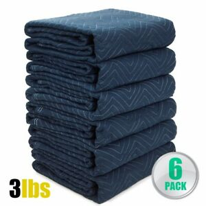 6pc Moving Blankets Bundle 72x80 Econo Professional Quilted Moving Pads Pa