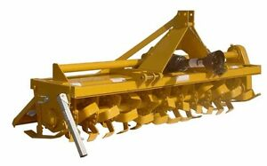 Rotary Gear Driven Tiller 7ft 50 To 65 Hp Cat 1 Or 2 Straddle Hitch 3 Pto