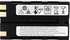 Leica Compatable Geb221 Li Ion Battery Leica Total Stations Gnss Receivers