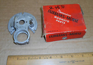 New Vintage Fairbanks morse Magneto Distributor End Plate Z4631