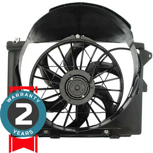 New 620 107 Radiator Fan Assembly Without Controller 1995 1997 Fits Town Car