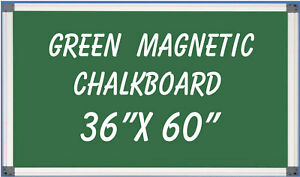 Magnetic Green Chalkboard Menu Sign Board 36 X 60