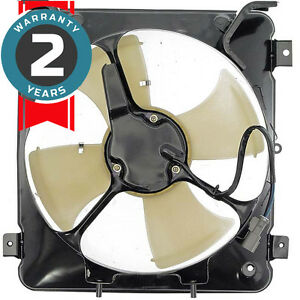 New 620 203 Radiator Fan Assembly Without Controller 1996 1998 Fits Honda Civic