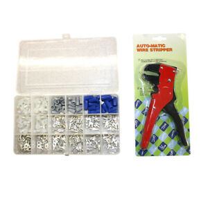 Electrical Connectors terminals Repair Kit W plastic Case Wire Crimper Ekit1