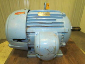 Emerson R 6780 03 985 Electric Motor 3 ph 40hp 1765 Rpm 460v 324t Frame c40p2c