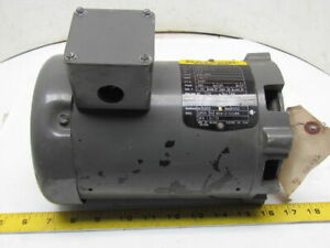 Baldor Km3006 34f012y170 3ph Ac Electric Motor 1 3hp 3450 Rpm 230 460v 56c Frame