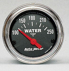 Auto Meter Products 2532 Traditional Gauge Water Temperature