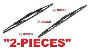 2 Pieces Bosch Windshield Wiper Blades For Acura Rsx Accord Azera Soul Pair
