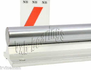 Nb Wss8x48 1 2 Inch Supported Shaft Rail Assembly Linear Motion Rolling